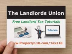 Free Landlord Tax Tutorials