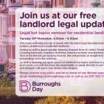 Landlord Legal Update by Burroughs Day Solicitors